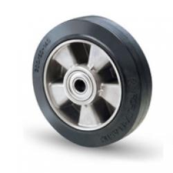 Kolo črna guma, aluminijasto platišče4589