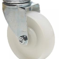 Poliamidno kolo z vrtljivo ploščo z sredinsko izvrtino 100x32mm